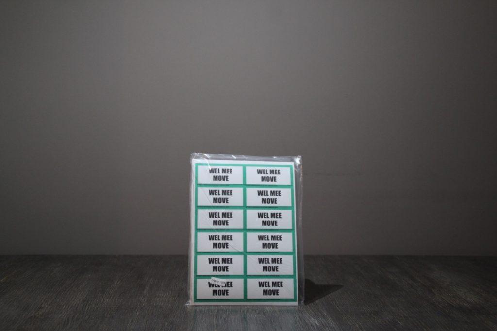 Etiketten Wel mee:Move